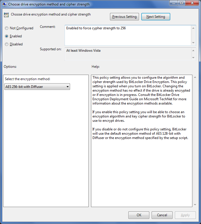 c drive from encryption policy template image source userswfuedu
