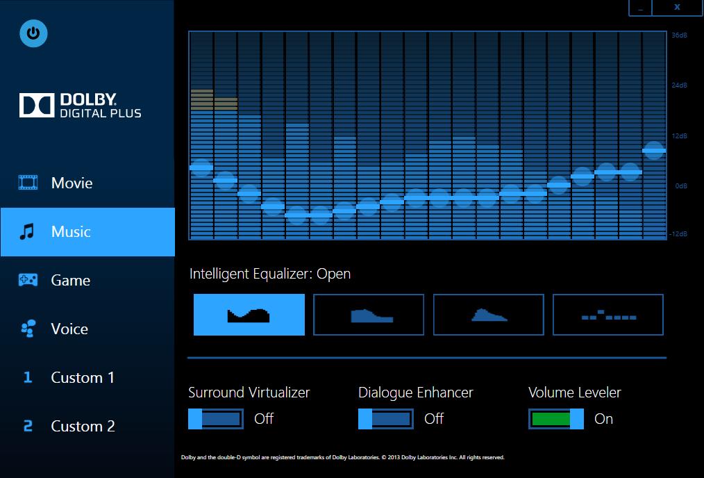 Программу Dolby Digital