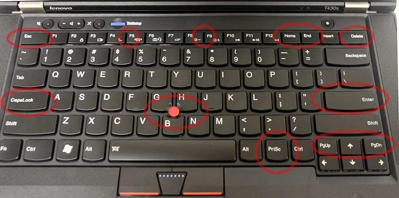 Lenovo Thinkpad Keyboards