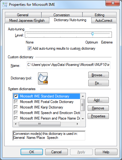 Adding Asian IMEs (Chinese and Japanese) for Windows 7