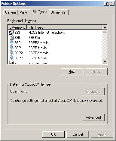 types of windows xp
